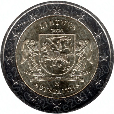 Lituania - 2€ Comm. 2020 FDC Aukstaitija