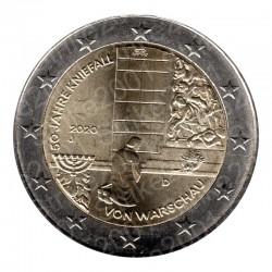 Germania - 2€ Comm. 2020 FDC Varsavia
