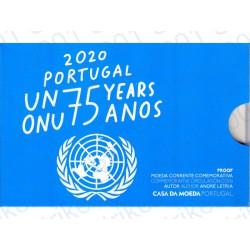 Portogallo - 2€ Comm. 2020 FS Onu in Folder