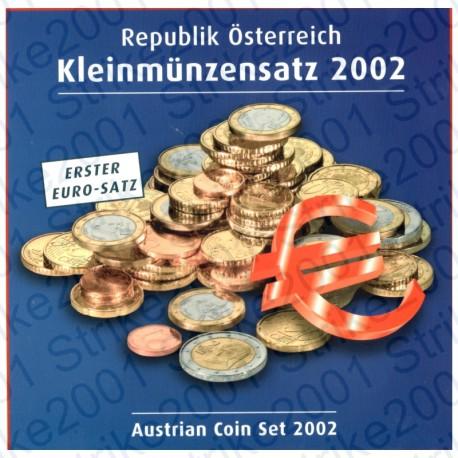 Austria - Divisionale Ufficiale 2002 FDC