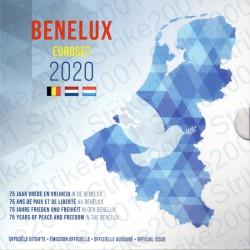 Belgio - Serie BENELUX 2020 FDC