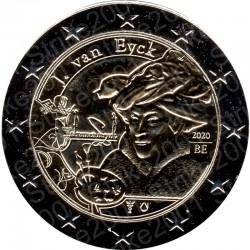 Belgio - 2€ Comm. 2020 FDC Jan van Eyck