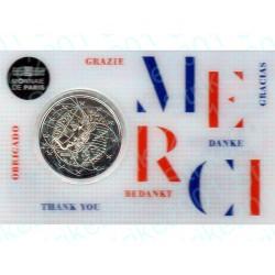 Francia - 2€ Comm. 2020 FDC Ricerca Medica MERCI in Folder