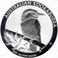 Australia - 1 Oncia Argento 2021 FDC Kookaburra
