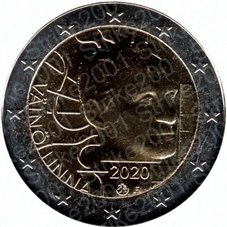 Finlandia - 2€ Comm. 2020 FDC Vaino Linna