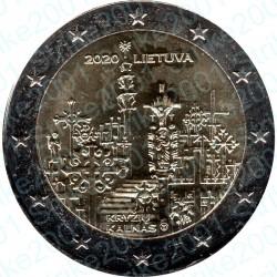 Lituania - 2€ Comm. 2020 FDC Collina delle Croci