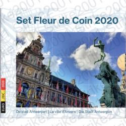 Belgio - Divisionale Ufficiale 2020 FDC