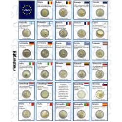 Kit Foglio Aggiornamento 2 Euro Comm. 2020 - Euro Junior