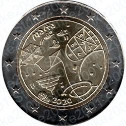 Malta - 2€ Comm. 2020 FDC Giochi