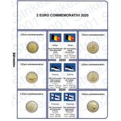 Kit Foglio 2 Euro Comm. 2020