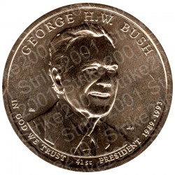 America - 1 Dollaro G.H.W. Bush (Zecca D)  2020