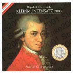 Austria - Divisionale ufficiale 2003 FDC