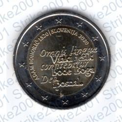 Slovenia - 2€ Comm. 2020 FDC nascita Adam Bohoric
