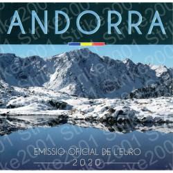Andorra - Divisionale Ufficiale 2020 FDC