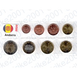 Andorra - Blister 2020 FDC