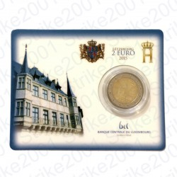 Lussemburgo - 2€ Comm. 2015 FDC Granduca in Folder