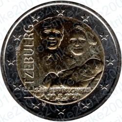 Lussemburgo - 2€ Comm. 2020 FDC Principe Carlo foto in rilievo