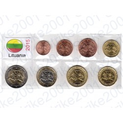 Lituania - Blister 2015 FDC