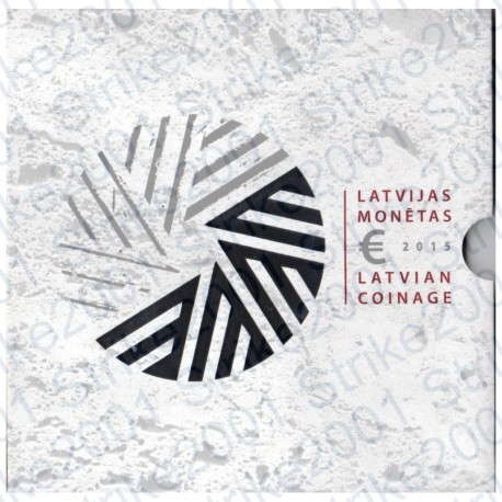 Lettonia - Divisionale 2015 9 monete FDC