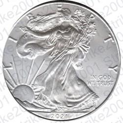America - 1 Dollaro Argento Liberty Oncia 2021 FDC