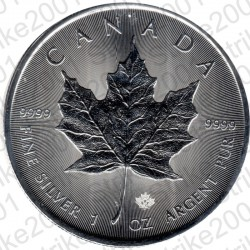 Canada - 1 Oncia Argento 2021 FDC Maple Leaf