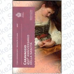 San Marino - 2€ Comm. 2021 FDC Caravaggio in Folder