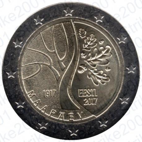 Estonia - 2€ Comm. 2017 Indipendenza FDC