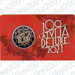 Lettonia - 2€ Comm. 2021 FDC De Iure Folder