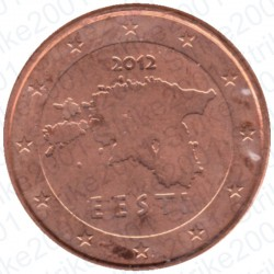 Estonia 2012 - 1 Cent. FDC