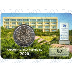 Cipro - 2€ Comm. 2020 FDC Neurologia e Genetica in Folder