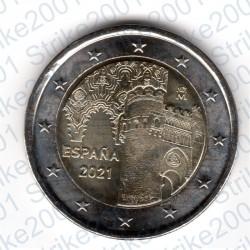 Spagna - 2€ Comm. 2021 FDC Toledo