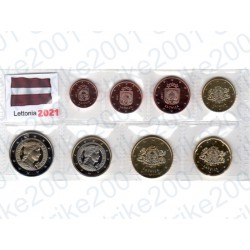 Lettonia - Blister 2021 FDC