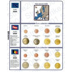 Kit Foglio 19 paesi 2020
