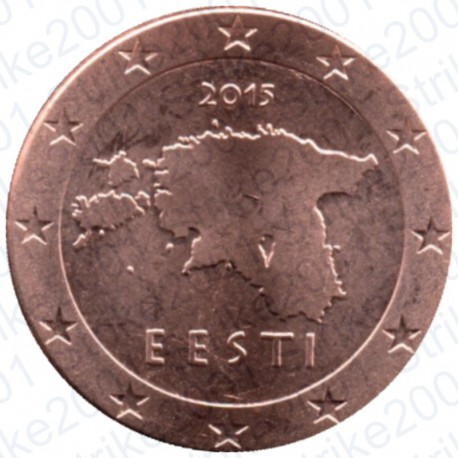 Estonia 2015 - 1 Cent. FDC