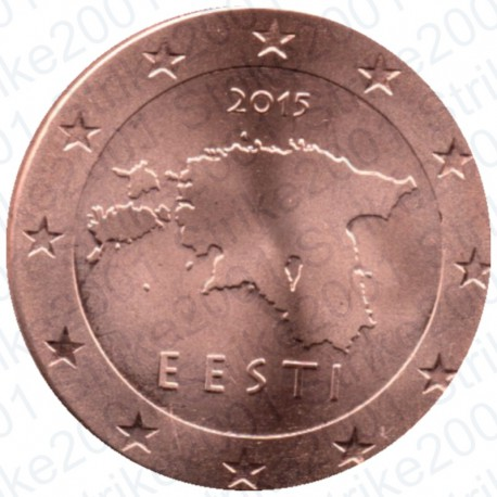 Estonia 2015 - 2 Cent. FDC