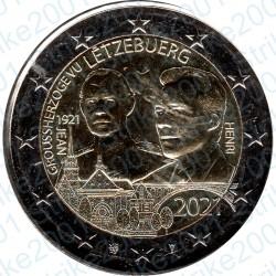 Lussemburgo - 2€ Comm. 2021 FDC Nascita Granduca Jean