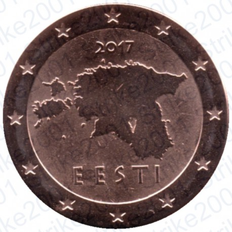 Estonia 2017 - 2 Cent. FDC