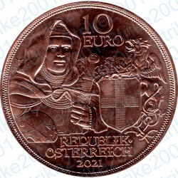 Austria - 10€ Rame 2020 FDC Fermezza