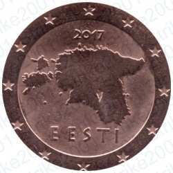 Estonia 2017 - 5 Cent. FDC