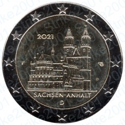 Germania - 2€ Comm. 2021 FDC Magdeburgo