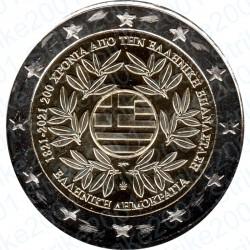 Grecia - 2€ Comm. 2021 FDC Indipendenza