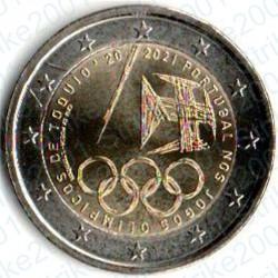 Portogallo - 2€ Comm. 2021 FDC Giochi Olimpici Tokyo