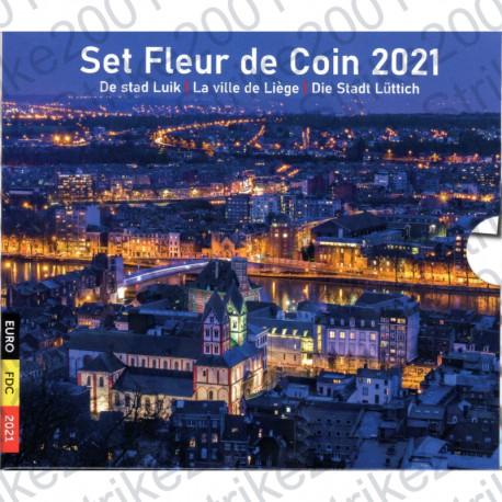 Belgio - Divisionale Ufficiale 2021 FDC