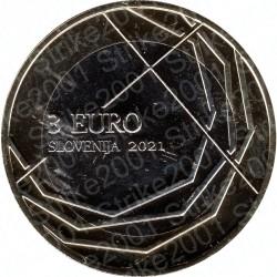 Slovenia - 3€ 2021 FDC Skofja Loka
