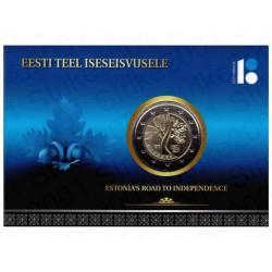 Estonia - 2€ Comm. 2017 FDC Indipendenza in Folder