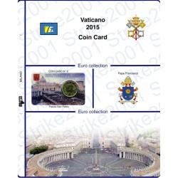 Kit Foglio Vaticano Coin Card 2015