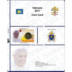 Kit Foglio Vaticano Coin Card 2017