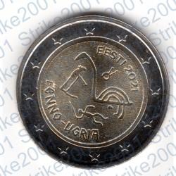 Estonia - 2€ Comm. 2021 FDC Popoli Ugrofinnici
