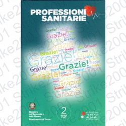 Italia - 2€ Comm. 2021 FDC Professioni Sanitarie in Folder