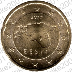 Estonia 2020 - 20 Cent. FDC